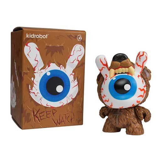 "Dunny Bad News Kodiak Edition Edition 8"" Vinyl Figure"