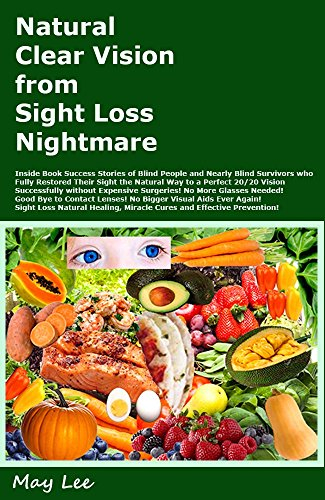 Natural Clear Vision from Sight Loss Nightmare: Success Stories of the Blind and Worst Vision Survivors who Fully Restored Eye Sight Naturally to 20/20 Vision, Natural Eye Healing and Miracle Cure