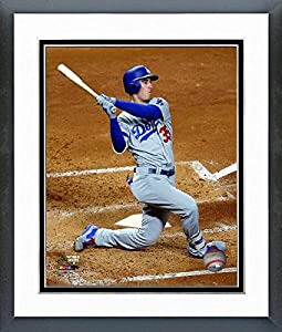 """Cody Bellinger Los Angeles Dodgers 2017 World Series Photo (Size: 12.5"""" x 15.5"""") Framed"""