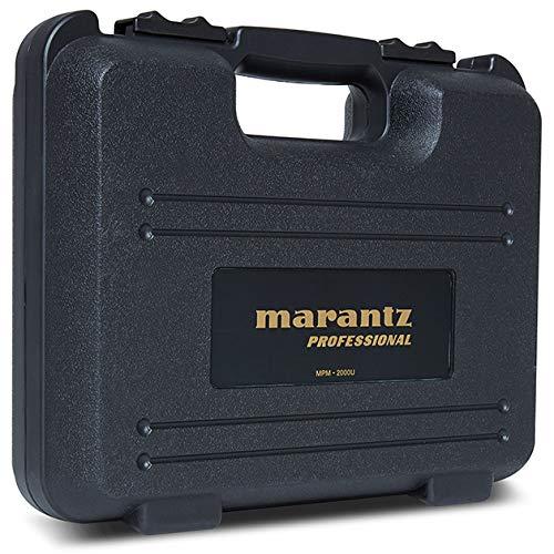 Marantz Professional MPM-2000U   Large Diaphragm Studio Quality USB Condenser Microphone For Podcasting & Recording, Including Shockmount, USB Cable & Carry Case