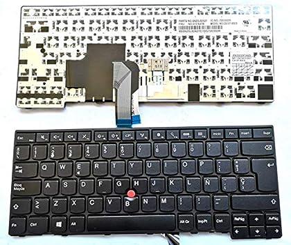 Junweier Español Teclado para Lenovo ThinkPad L440 L450 L460 L470 T431S T440 T440P T440S T450 T450S e440 e431S T460 01EN468 01EN508 04Y0824 04Y0854 ...
