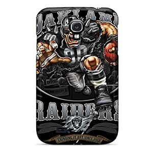 Great Cell-phone Hard Cover For Samsung Galaxy S4 (WYR3417qtcn) Unique Design High-definition Oakland Raiders Series