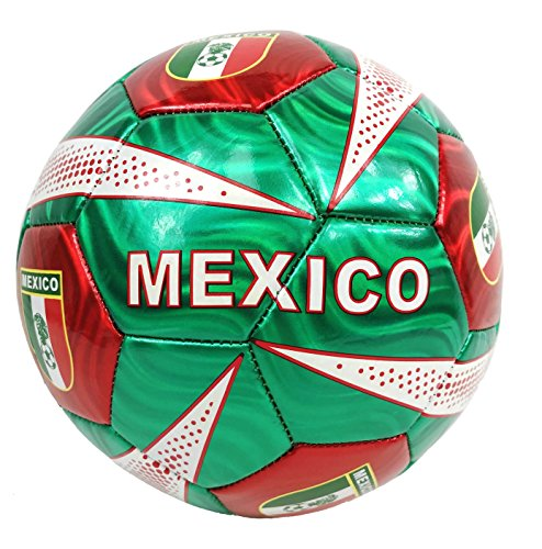 New Mexico Ball Summer Outdoor Sport Soccer Fan 2014 World Cup Mexico Ball Size 5!