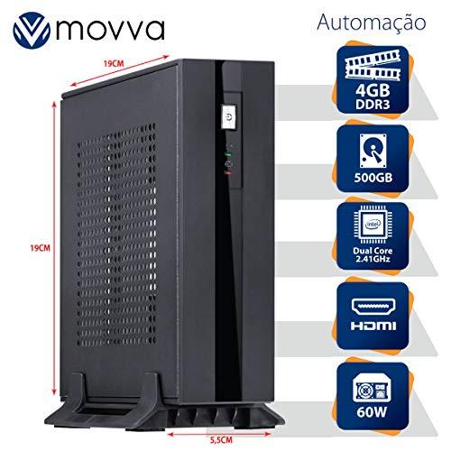 MINI COMPUTADOR LITE INTEL DUAL CORE J1800 2.41GHZ MEMÓRIA 4GB HD 500GB HDMI/VGA FONTE EXTERNA 60W LINUX - MOVVA