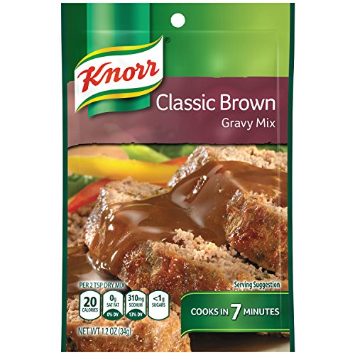 Knorr Gravy Mix Gravy Mix, Classic Brown 1.2 oz (Pack of 24)