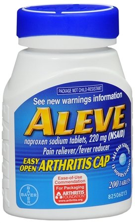 Pain Reducer (Aleve Pain Reliever Fever Reducer Easy-Open Cap -- 220 mg - 200)