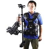 Binko 1-7Kg Carbon Fiber Stabilizer Sled Support Dual Arm Vest for Taking Video