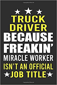 Truck Driver Notepad
