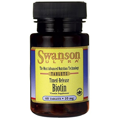 Mcg Timed Release (Swanson Timed-Release Biotin 10,000 mcg 60 Tabs)