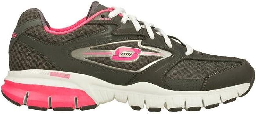 Skechers Tone-ups Run Rival Zapatillas de correr para mujer, Multi (Gris/Rosa), 39.5 EU: Amazon.es: Zapatos y complementos