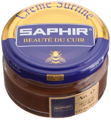 Saphir Shoe Cream 50ml Jar Medium Brown