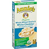 Organic Whole Wheat Shells & White Cheddar (12 Boxes of 6oz) (Pack of 144)