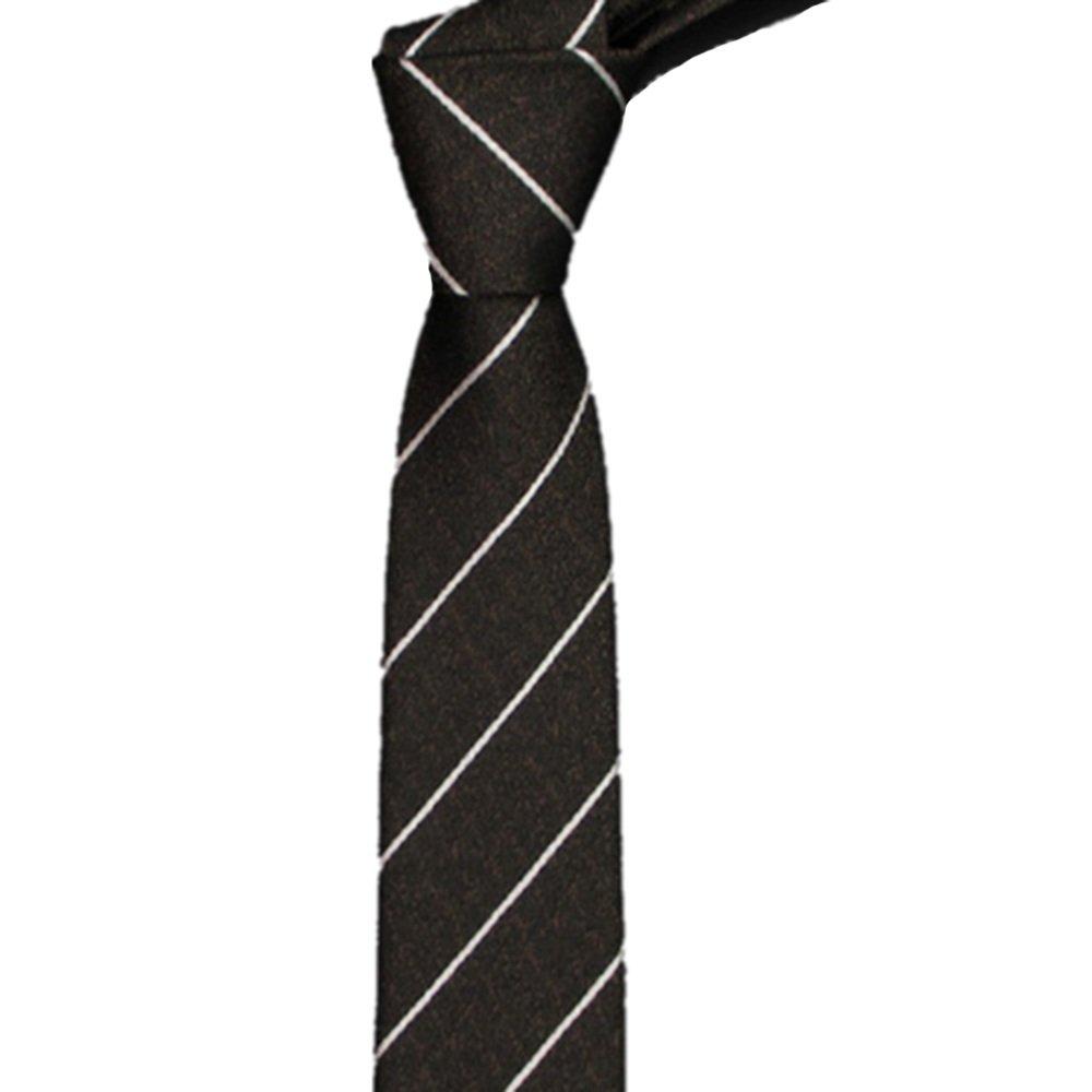 Neckchiefs Corbata de los Hombres Moda Casual Corbata pequeña ...