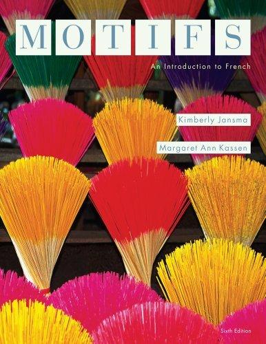 By Kimberly Jansma - Motifs: An Introduction to French (6th Edition) (12.2.2012) pdf epub