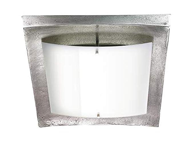 SHINE Lámpara de Techo, Nickel Antik, 42 x 38 x 8,2 cm ...