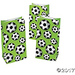 Soccer Treat Bags - 12 ct