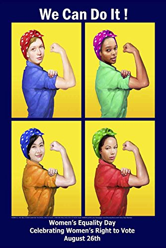 A New Women's Equality Day Poster We Can Do It!