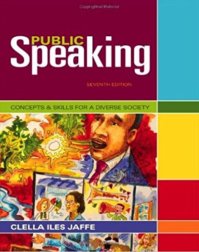 Public Speaking: Concepts & Skills for a Diverse Society