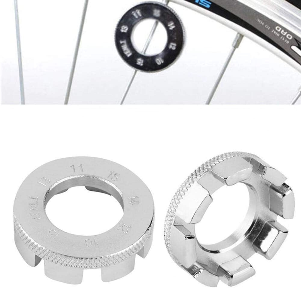 15G Spoke Key 8 Way Bicycle Cycle Bike Wheel Rim Nipple Spanner Wrench Tool 10G