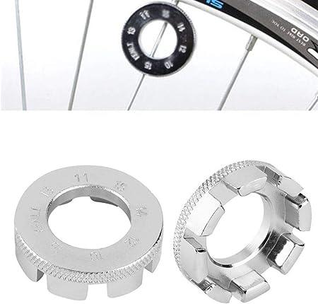 Spoke Wrench Nipple Key Bike Cycling Wheel Rim Spanner 8 Way Bicycle Wrench Tool