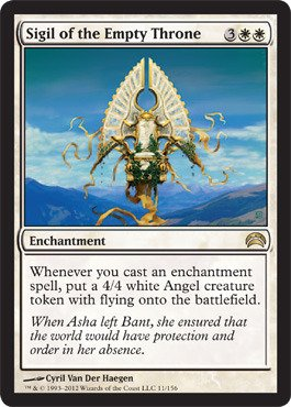 Magic: the Gathering - Sigil of the Empty Throne (11) - Planechase 2012