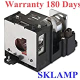 Sklamp AN-XR20LP Replacement Lamp with Housing For Sharp XG-MB55 / XG-MB55X / XG-MB65 / XG-MB65X / XG-MB67 / XG-MB67X / XR-20S / XR-20X Projectors