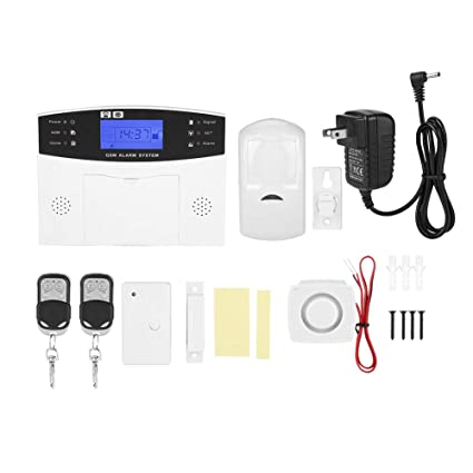 Amazon.com: GSM Security Burglar Alarm, Wireless Home ...