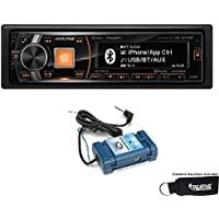 Alpine CDE-HD149BT Advanced Bluetooth CD Receiver with HD Radio and Steering Wheel Control Interface Bundle