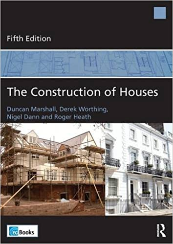 The Construction of Houses: Amazon co uk: Duncan Marshall