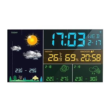 Alarm clock Despertador Inteligente WiFi El Reloj ...