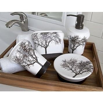 Splash Home Tree 4 Pc. Bath Accessory Set
