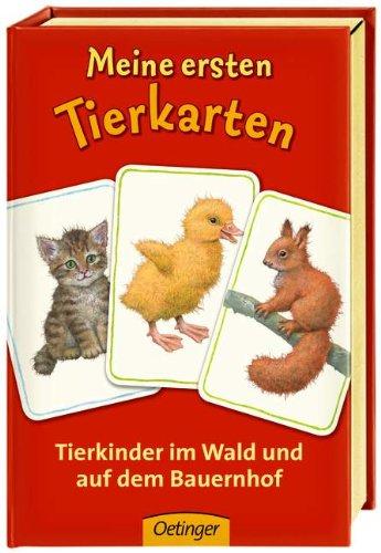 Meine ersten Tierkarten. Tierkinder im Wald und auf dem Bauernhof
