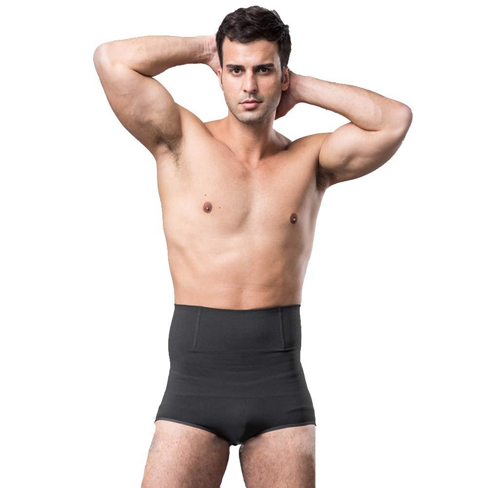 ef05c2c406 W WECHERY Control Pantise Butt Lifter Hip Up Pants Men High Waist ...