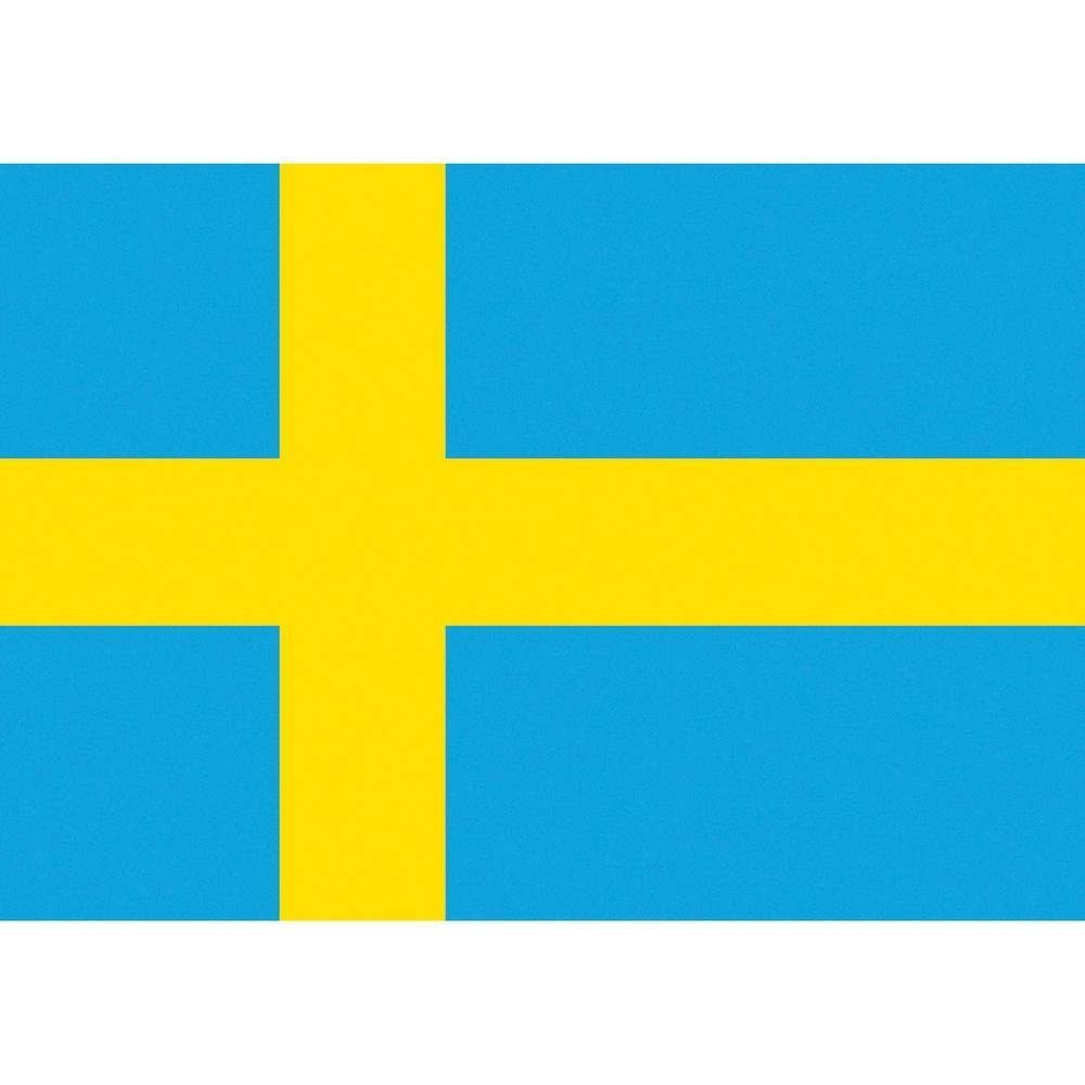 Sweden National Flag 5ft x 3ft World Flag Shop BHBA549