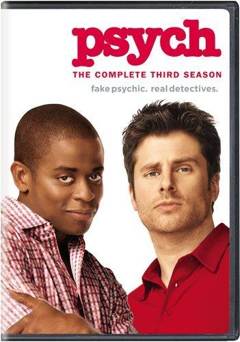DVD : Psych: Season 3