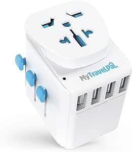 MyTravelPal® Adaptador Enchufe Universal de Viaje: Amazon.es: Electrónica
