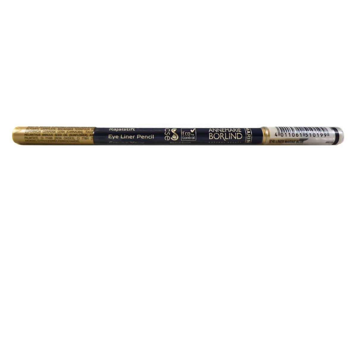 Annemarie Börlind Eye Liner Pencil Nr. 19 marine blue, 1er Pack (1 x 1 ml) 4011061510199