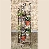 Olivia Wong's Zaria Plant Stand Tuscan Slate