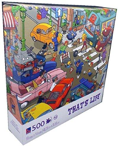 That's Life Series, Traffic Jam; 500 Piece Puzzle