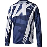 Fox Racing Demo Long-Sleeve Bike Jersey - Men's Blue Camo, L