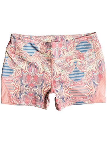 Roxy Imanee Printed Sweat Shorts in Heritage Heather Playground Paradise (Roxy Paradise Printed)