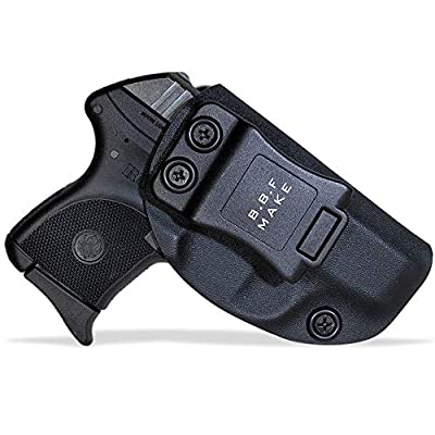 B.B.F Make IWB KYDEX Holster Fit: Ruger LCP 380 Auto | Retired Navy Owned Company | Inside Waistband | Adjustable Cant | US KYDEX Made