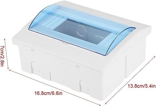 disyuntor caja distribuci/ón a prueba dagua para 9-12 v/ías Disyuntor de interiores pared Caja distribuci/ón disyuntores