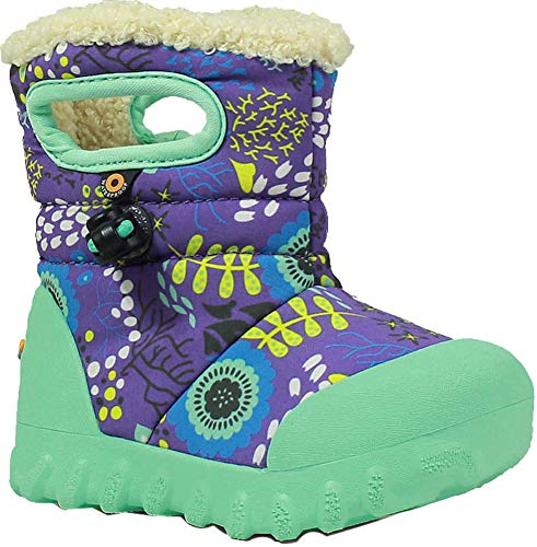 Bogs Winter Purple Boot Moc Waterproof Multi Kids' Print Insulated B Toddler Reef YfrxfqTw