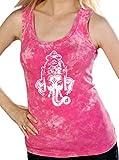 Cheap Ladies GANESHA HEAD Tank Top, XL Hot Pink