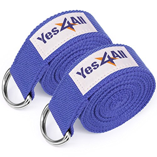 Yes4All Cotton Strap Metal D Ring product image