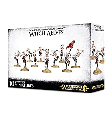 Daughters of Khaine Witch Aelves Warhammer Age of Sigmar from Games Workshop