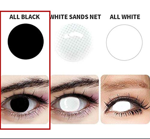 WQFXYZ Women Multi-Color Contact Lenses Cosplay Eyes Cute Charm and Attractive Fashion Eye Accessories Cosmetic Makeup Eye Shadow (1)]()