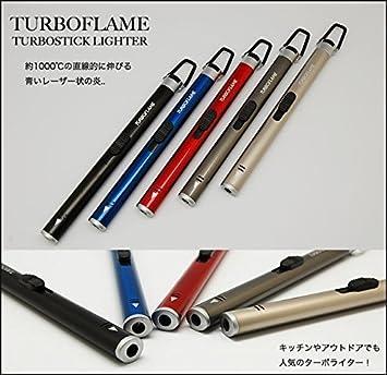 Turbo llama skeppshult/encendedor soplete Palo bolsillo Turboflame multitarea fuego estufa Azul Blue Metallic: Amazon.es: Deportes y aire libre