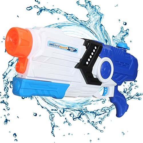 Fantastic Zone 2000ml Water Gun Super Water Blaster Moisture Capacity Party Outdoor Activity, 34ft Effective Distance Squirt Gun Soaker for Kids & Adults by Fantastic Zone